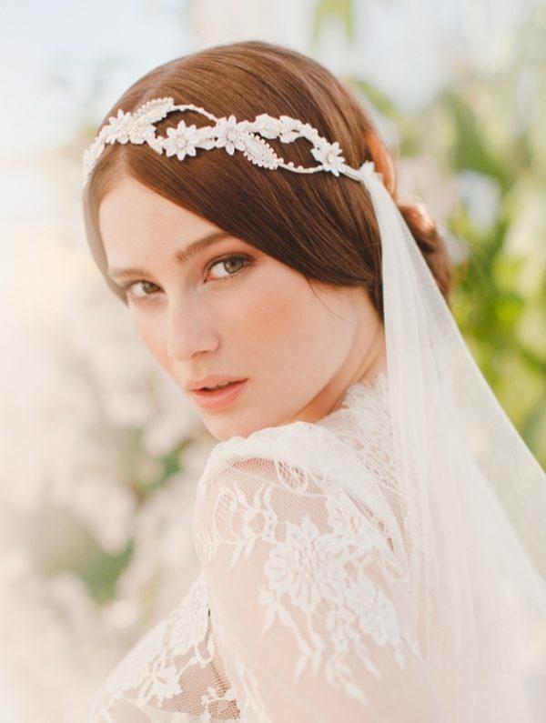 cristine bridal veil bmodish