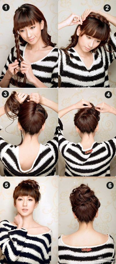 easy hair bun tutorial - pinterest bmodish