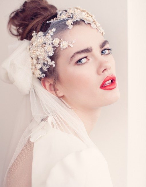 ella bridal headpiece bmodish