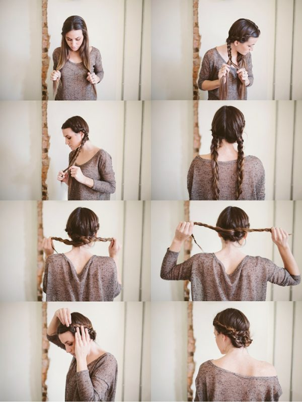Terrific Knot Braid Hair Tutorial Braids Hairstyle Inspiration Daily Dogsangcom