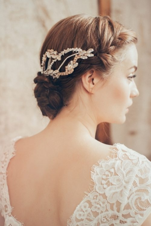 milena bridal headpiece bmodish