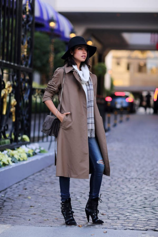 simple fall outfit bmodish