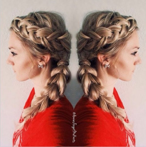 soft combo braid hair bmodish