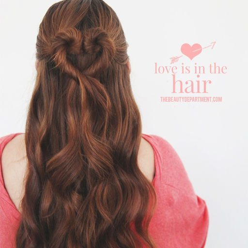 Awesome Heart Braid Hairstyle For Valentine 2015 bmodish