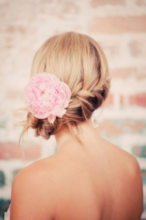 side low bun romantic valentines day hairstyle