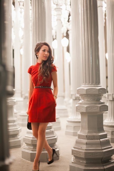 Little-Red-Dress-valentine dress bmodish