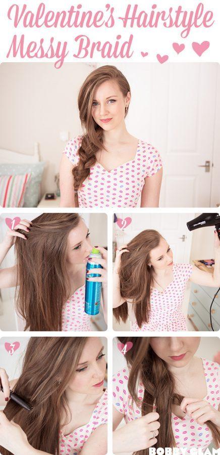 Valentines-day-hairstyle via bmodish