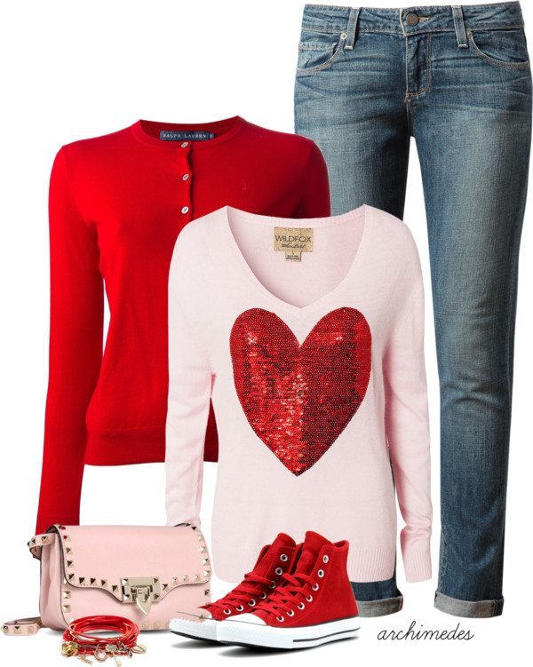 casual cute valentines day outfit bmodish