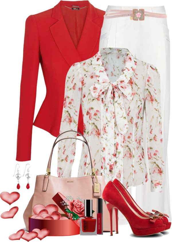 Fashion 2017 for ladies - 25 Great Ideas Of Valentines Day Outfits From Polyvore