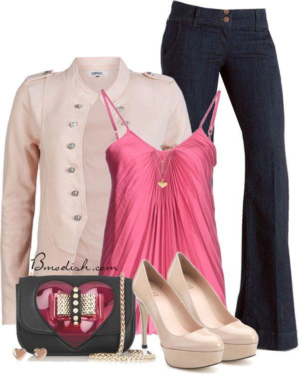 flirty valentine outfit polyvore bmodish