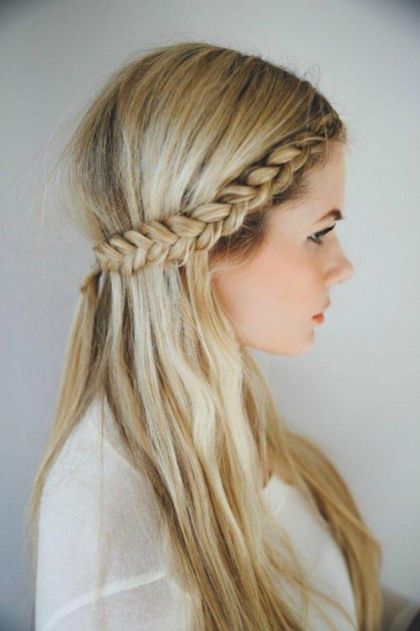 front braid romantic valentines day hair bmodish