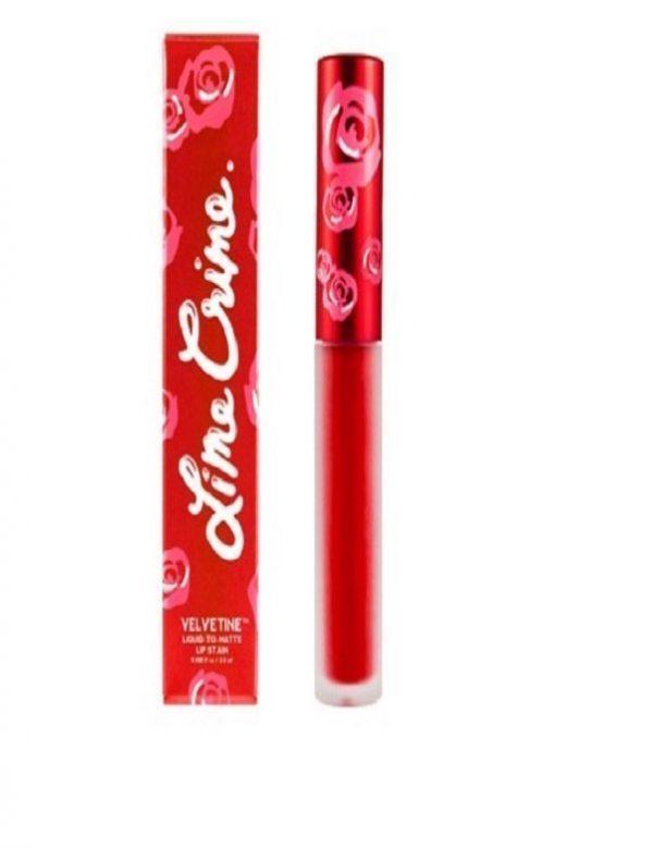 lime crime lipstick in red velvet valentine lipstick bmodish