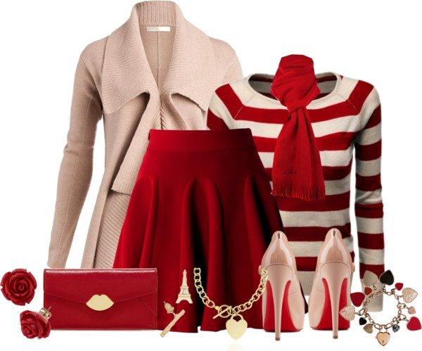 romantic sexy outfit for valentines day bmodish