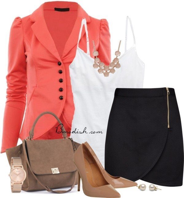 Chic office wear outfit bmodish