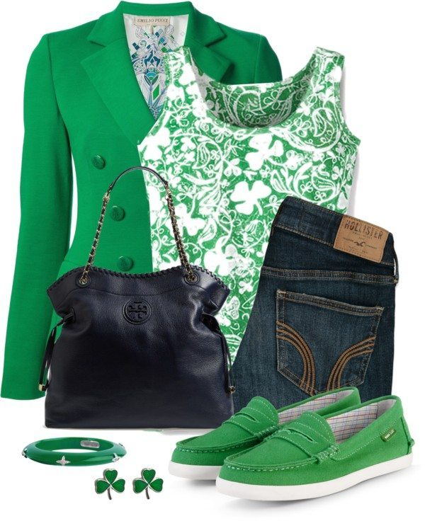 Cute St Patrick Outfit With Loafers Bmodish