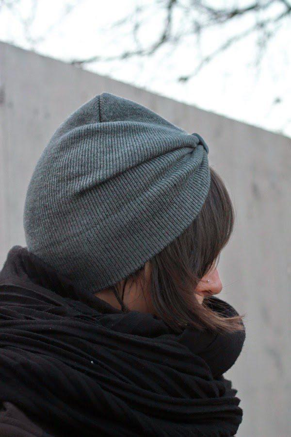 DIY kapa turban beanie via bmodish