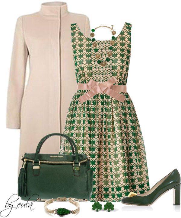 Elegant Formal St Patrick Outfit Bmodish