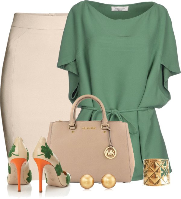 Elegant Outfit For St Patricks Day Bmodish