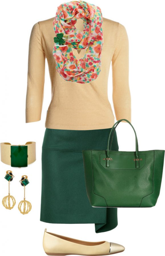 Simple Cute St Patrick Outfit Bmodish