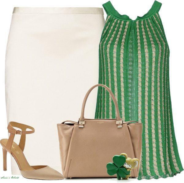 Stylish Halter Neck Top St Patrick Outfit Bmodish