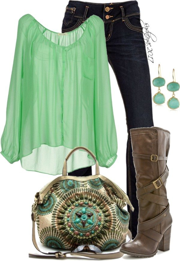 Stylish St Patrick Outfit With Boots Bmodish