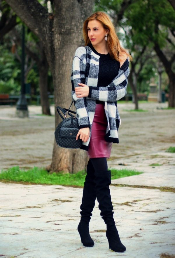 stylish late winter outfit