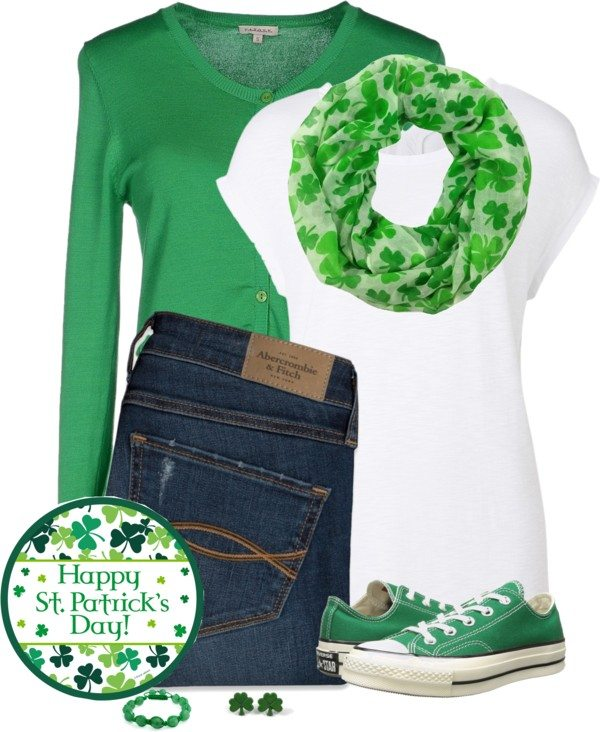 casual st patricks day outfit 1 bmodish