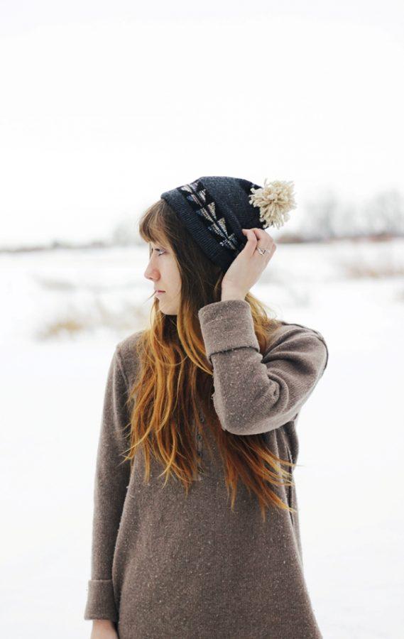 diy winter hat via bmodish