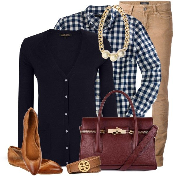 gingham shirt casual work outfit bmodish