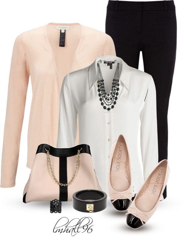 matching bag and shoes work outfit polyvore bmodish