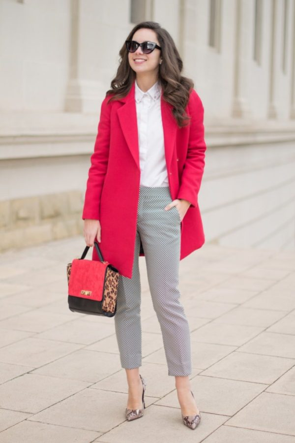 pink blazer for work outfit bmodish