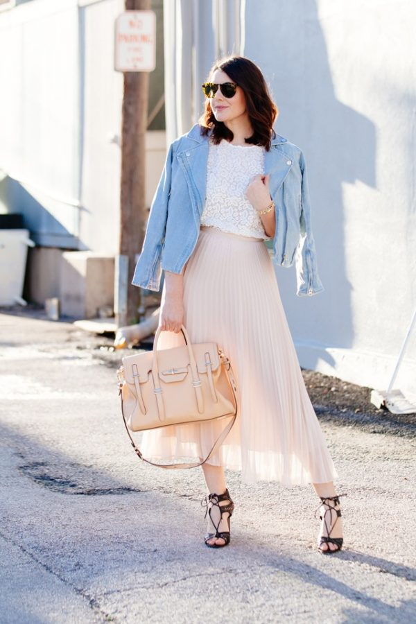 pleat skirt statement bmodish
