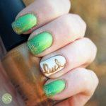 lucky irish st patrick day nail art