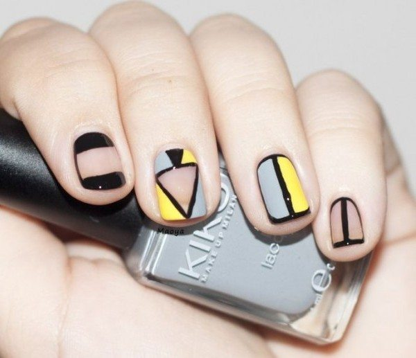 standout spaces nail art bmodish