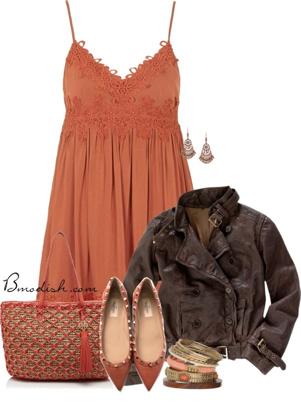babydoll sundress with valentino flats outfit bmodish