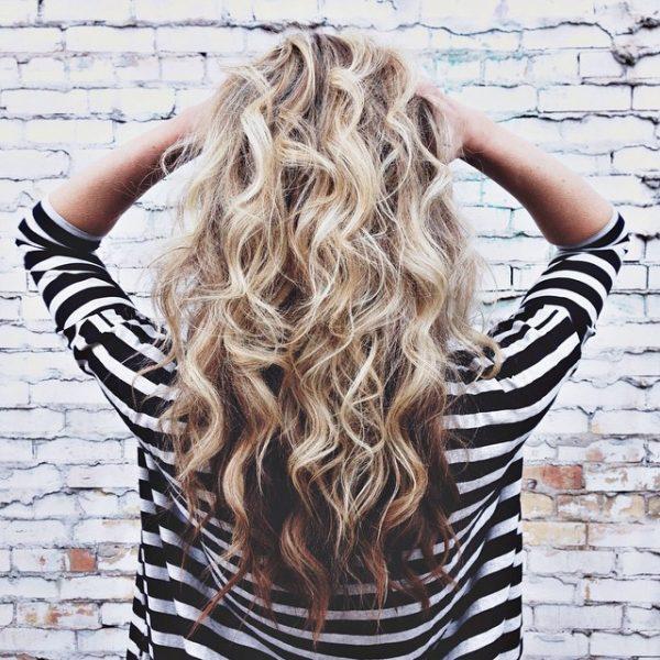 beautiful mid length wavy hair bmodish