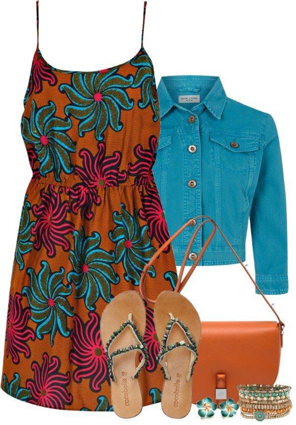 boho sundress casual outfit bmodish