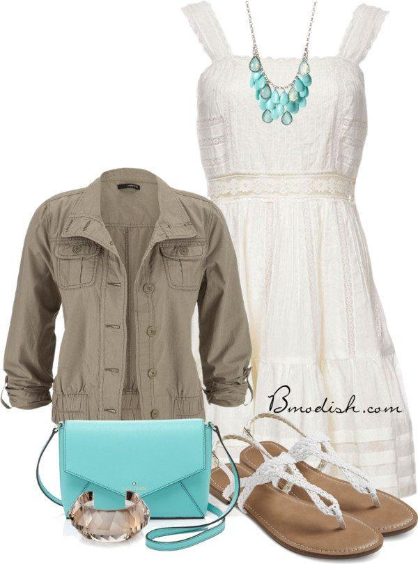 candela white spring dress