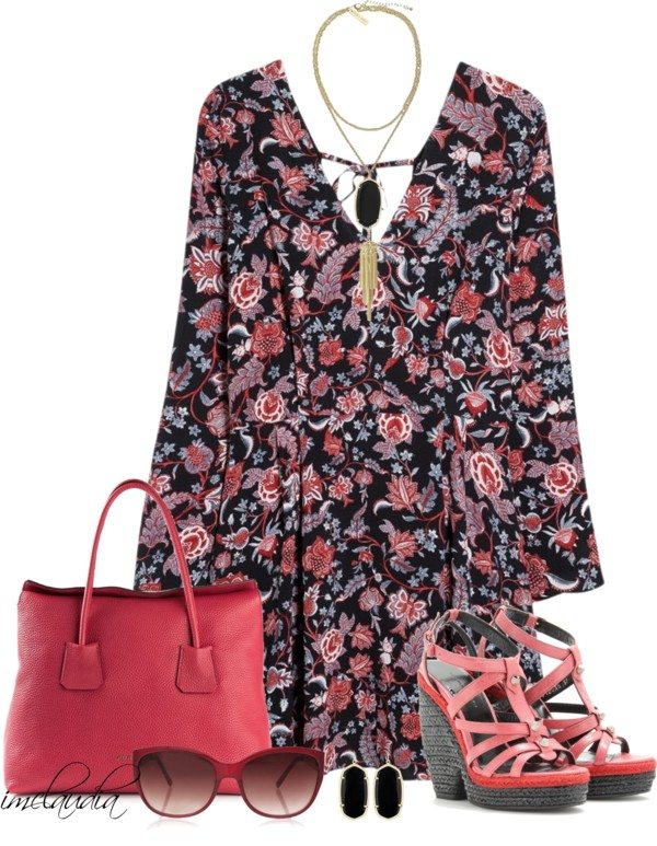 32 Polyvore Casual Dress Outfits For Spring And Summer