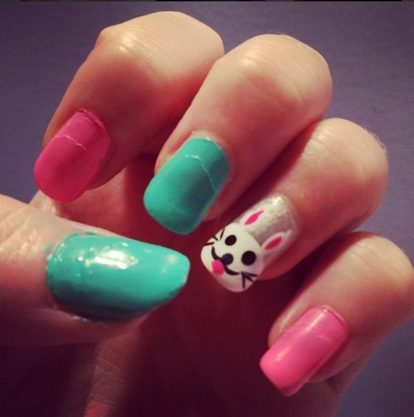 cute simple easter nails bmodish