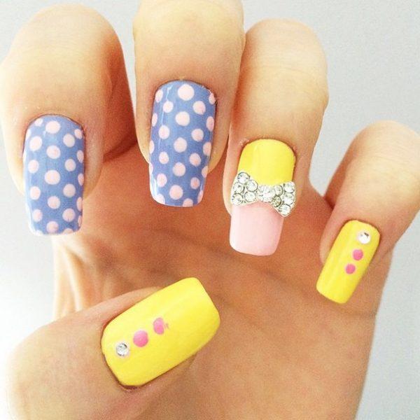 easter nails bmodish