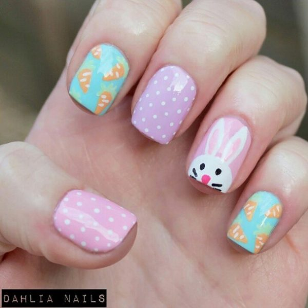 easter nails dahlia nails bmodish
