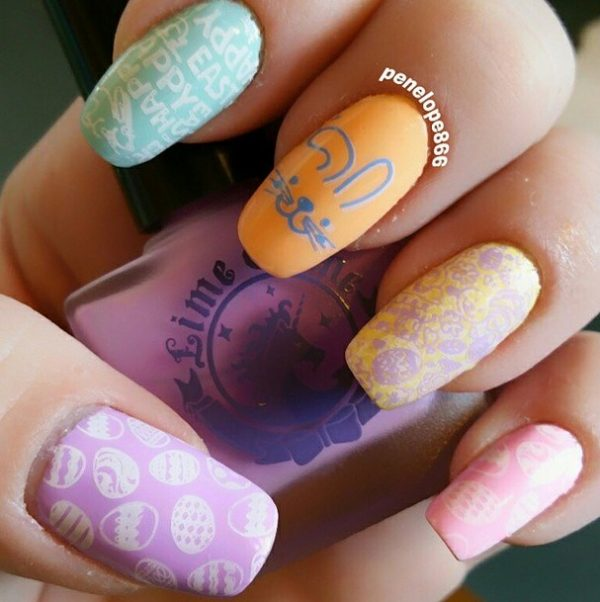 easter nails decals bmodish