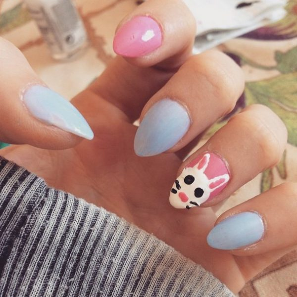 Easy Easter Nail Art: Ready For Easter : 38 Super Cute Easter Nail Art Designs
