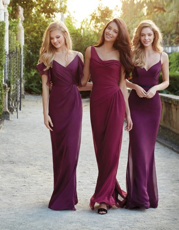 jim hjelm occasions bridesmaid chiffon spring 2015