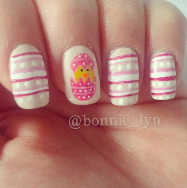 little chick easter nails bmodish