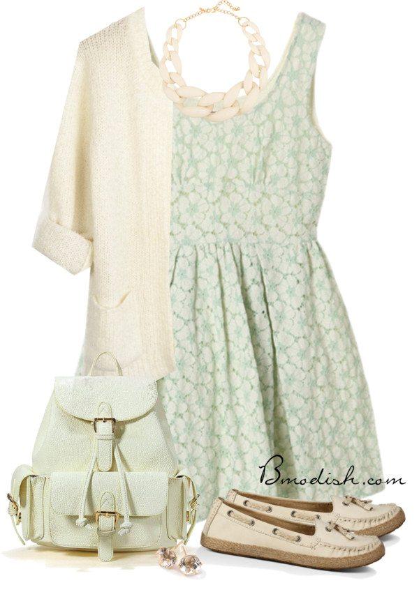 pastel sundress casual outfit bmodish