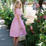how to wear pink dress for spring