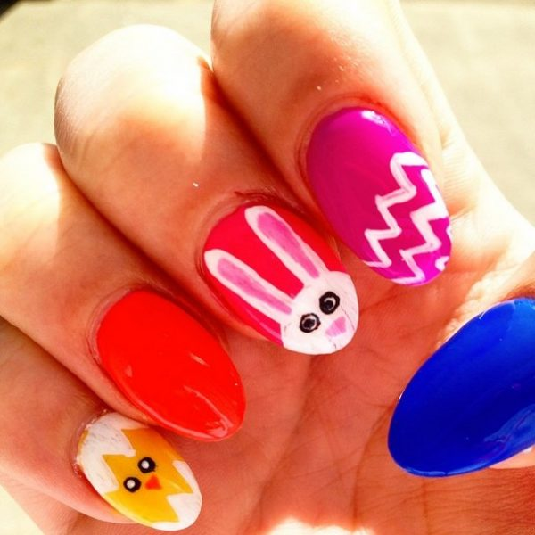 ready for easter nail art bmodish