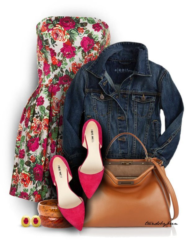 sunday dress casual spring outfit polyvore bmodish